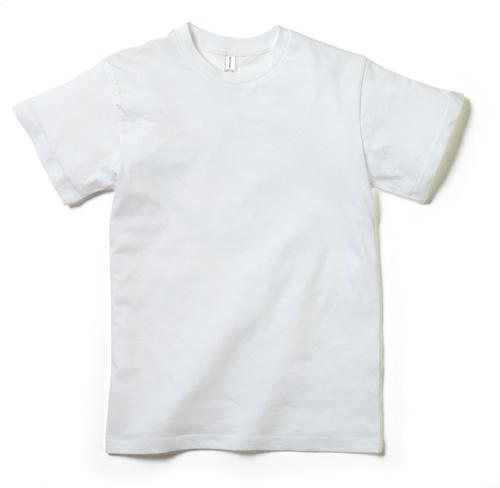 MS1137 3.8オンス ユーロTシャツ(ホワイト)